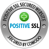 Positive SSL Secured Site - Secured by Comodo